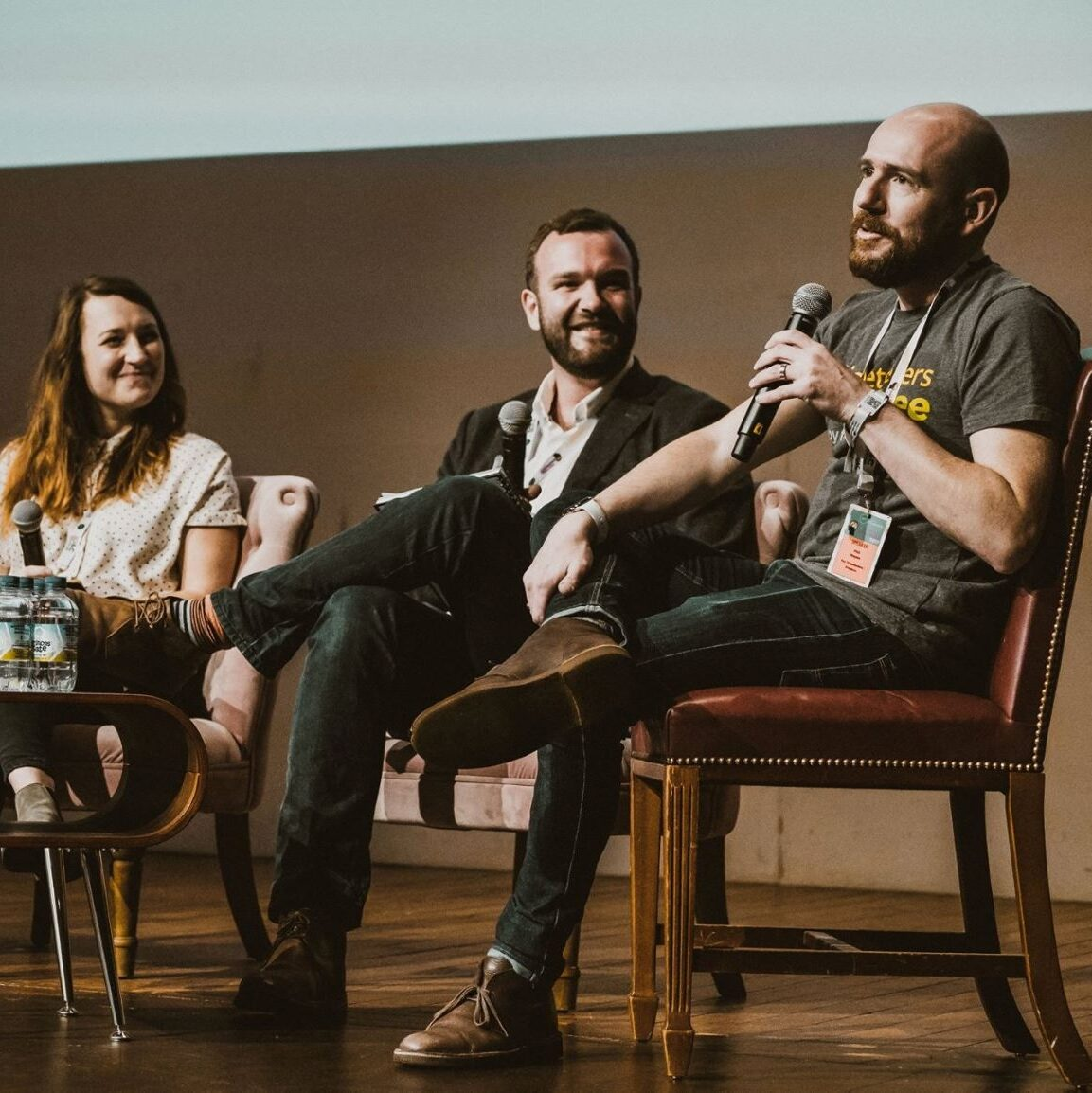 TicketSellers CEO, Phil Hayes, speaking at an Association of Independent Festivals conference in 2017.