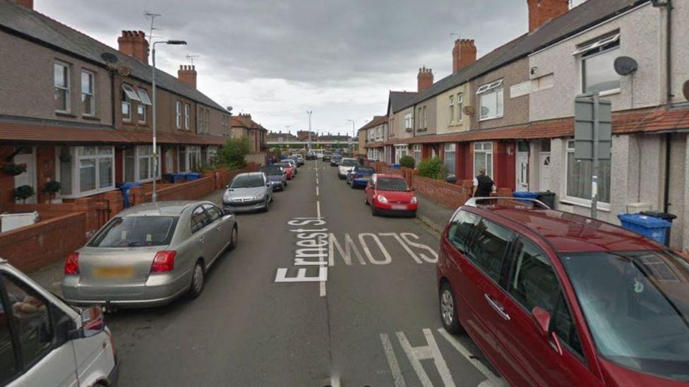 Street in Rhyl