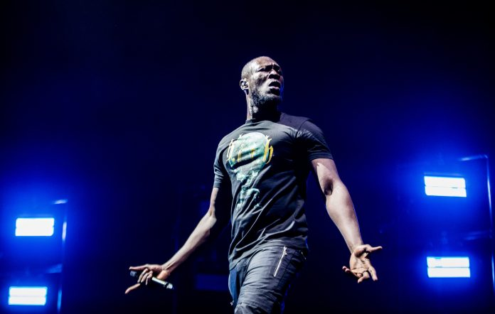 Stormzy performs live. CREDIT: Getty Images