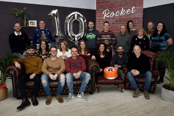 The team at Rocket Exhibition