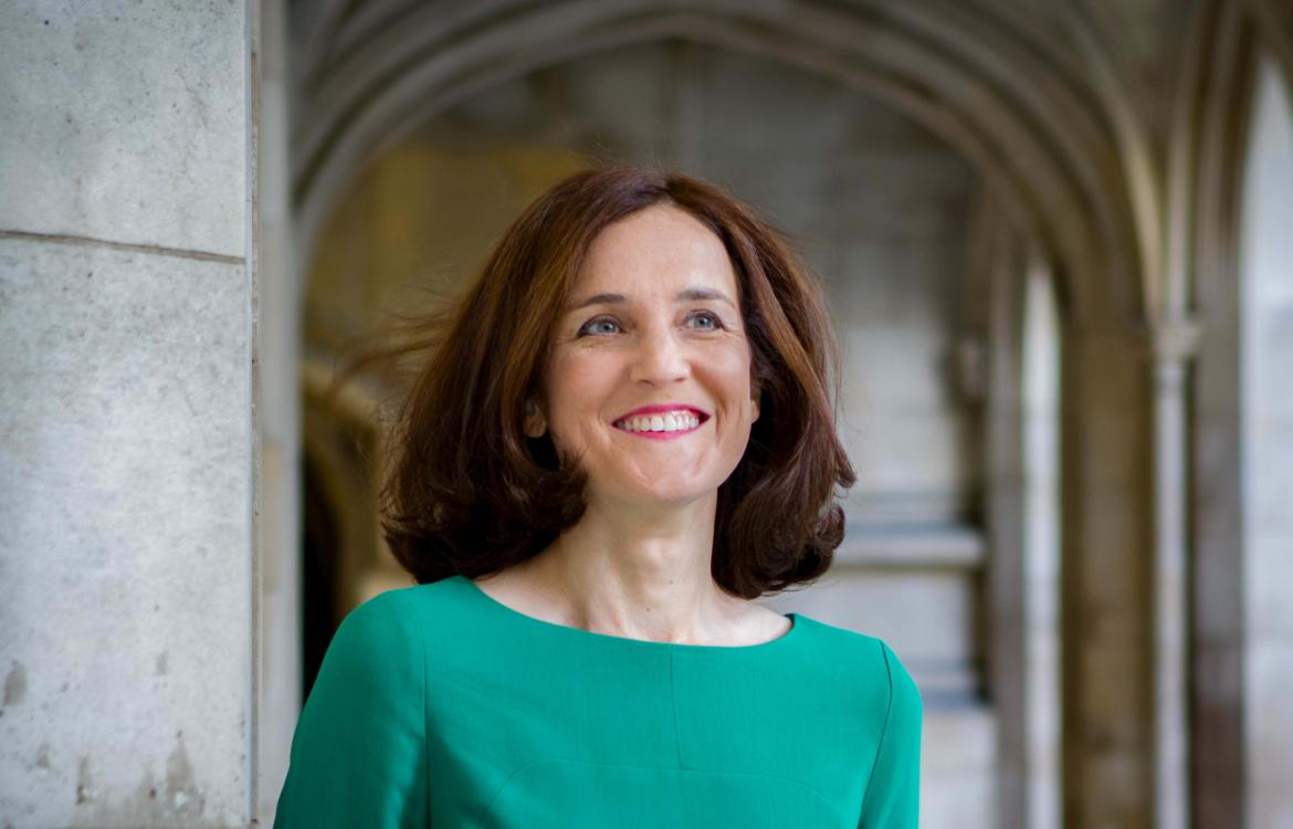 Chair of the APPGE, Theresa Villiers