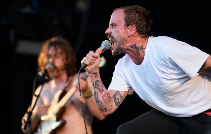 IDLES' Joe Talbot CREDIT: Leon Neal/Getty Images