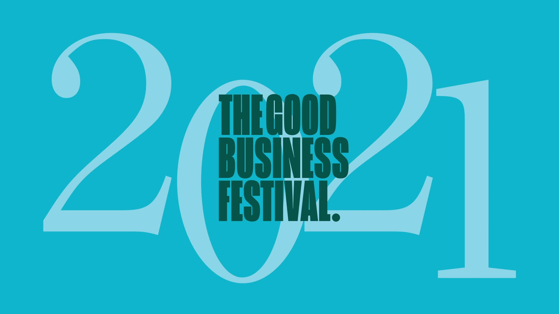 The Good Business Festival 2021 logo
