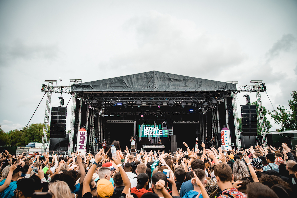 Lethal Bizzle performs at MADE Festival 2019