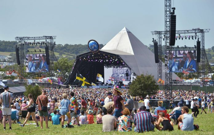Glastonbury's Pyramid Stage in 2019 (Picture: Getty)