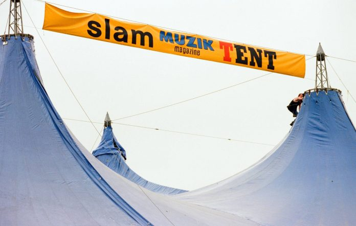 T in the Park's Slam Tent (Picture: Alamy)