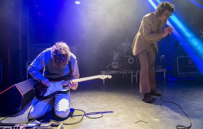 Fat White Family live. (Photo by Jordi Vidal/Redferns)