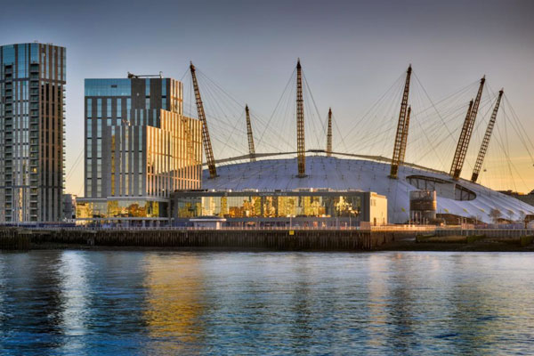 London's O2 Arena