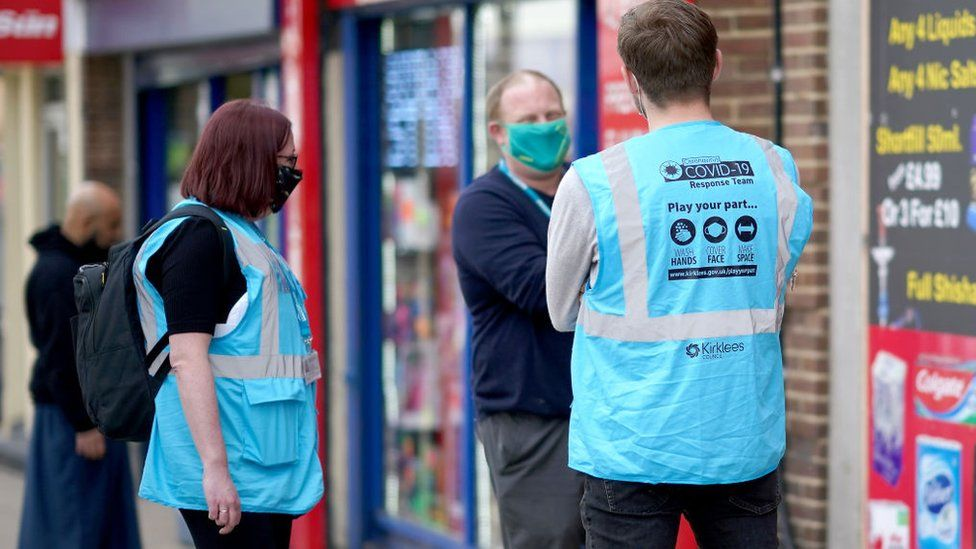 Health teams have been carrying out surge testing in Dewsbury, as well as other towns where the Indian variant is spreading