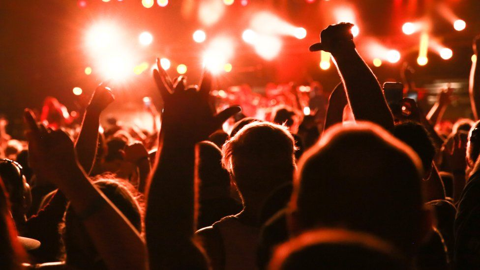 An indicative date of 21 June has been put forward for the return of live music