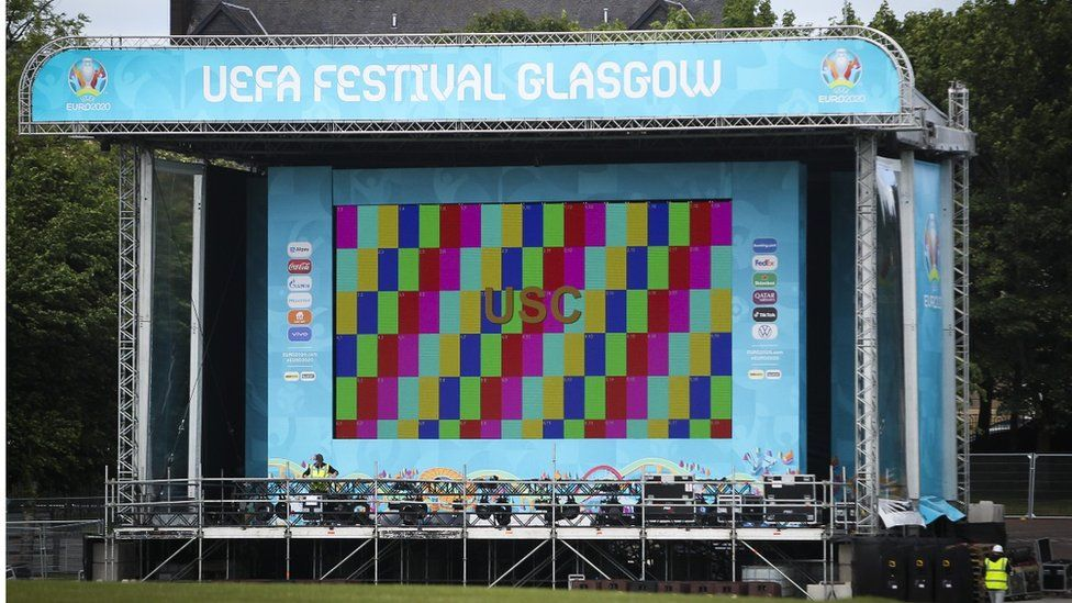UEFA Festival Glasgow stage