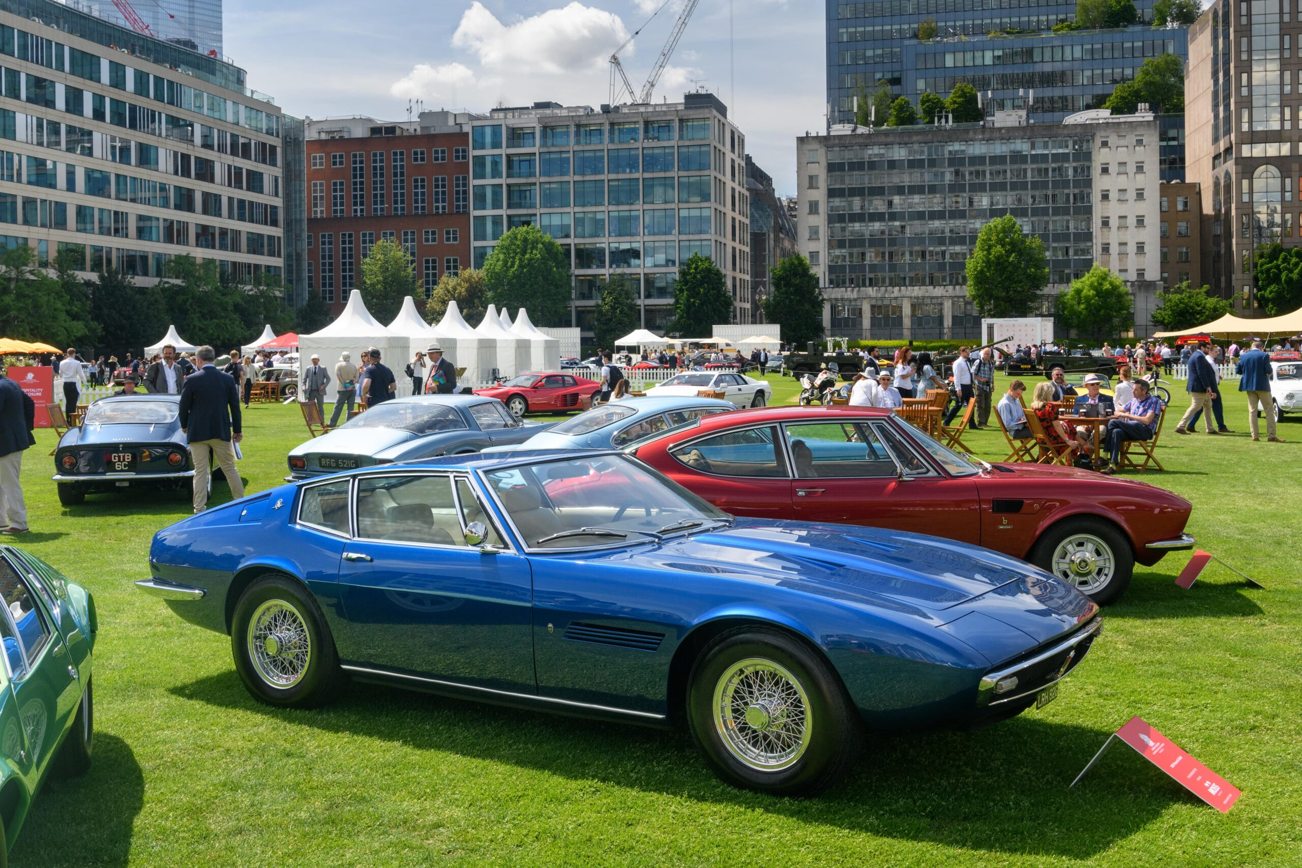 Classic cars take pride of place at London Concours