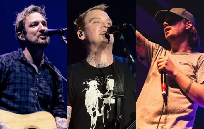 Frank Turner, Alkaline Trio and Funeral For A Friend. CREDIT: Getty Images