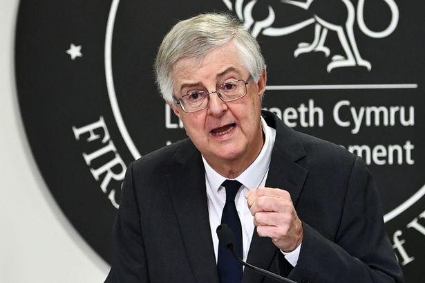 Welsh Government first minister Mark Drakeford