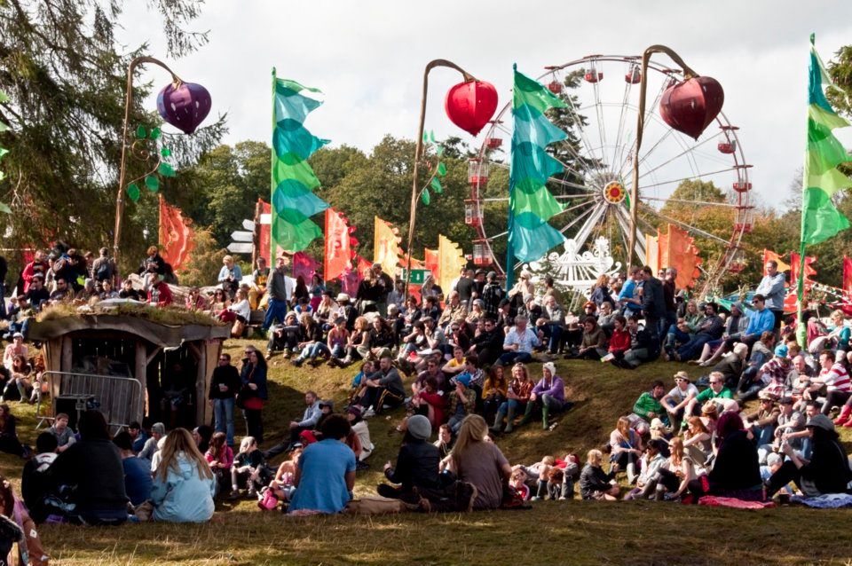 The crowd at the Body Soul arena at Electric Picnic, 2010