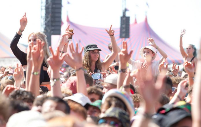 Festival crowds in the UK. CREDIT: Getty Images