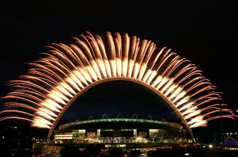 UEFA Champions League fireworks