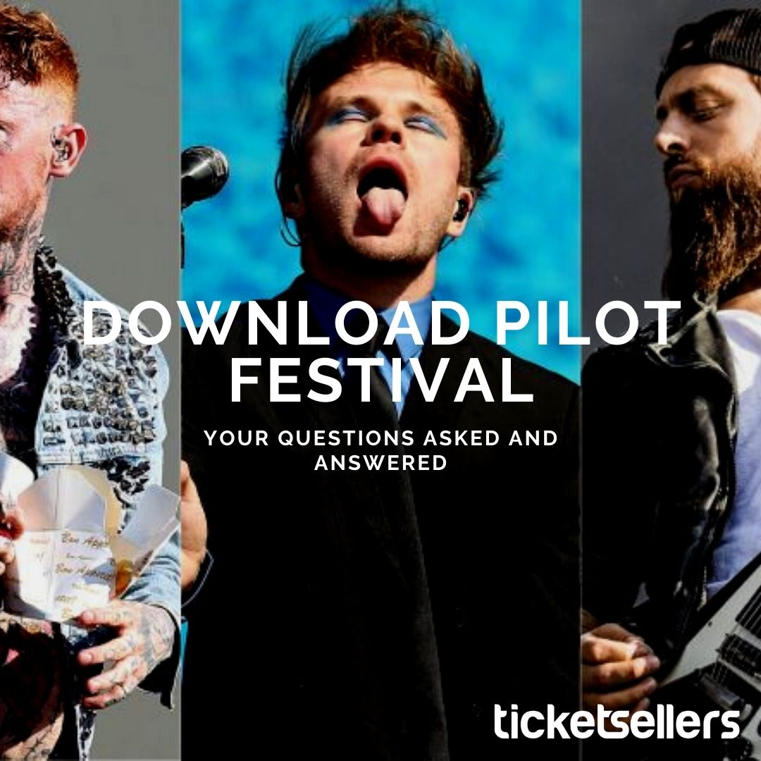 Image reads: Download Pilot Festival, your questions asked & answers