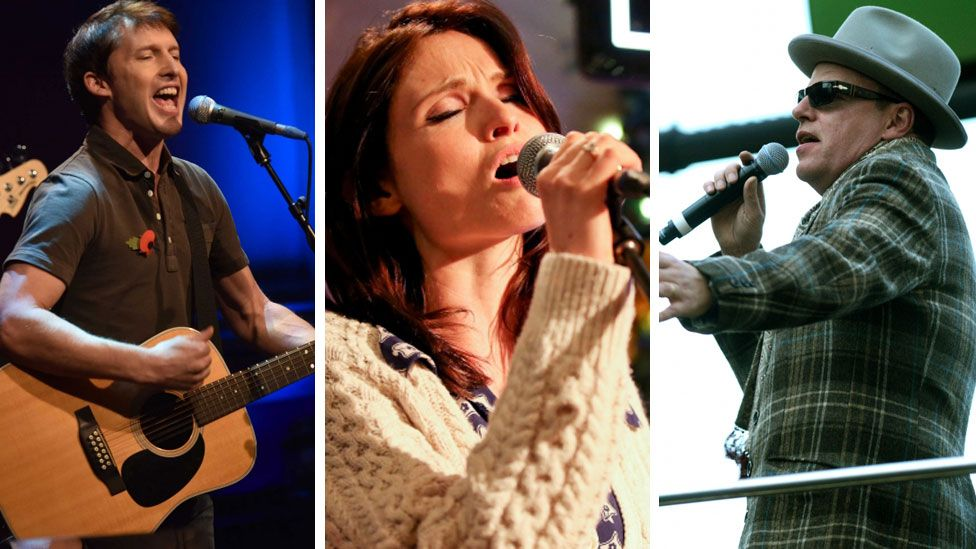 James Blunt, Sophie Ellis-Bextor and Suggs from Madness will play at the festival