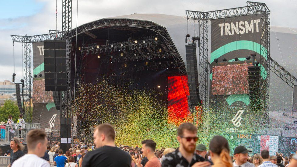 TRNSMT was cancelled in 2020 because of the pandemic