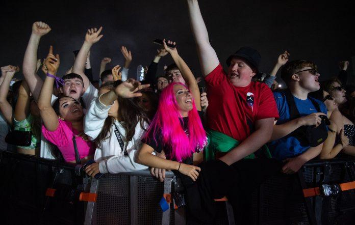 Music fans at TRNSMT Festival 2021 Credit: Roberto Ricciuti/Redferns