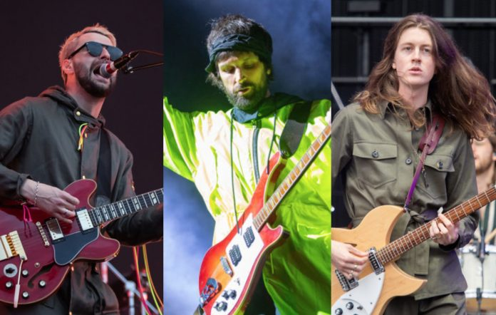 Courteeners, Kasabian and Blossoms. CREDIT: Getty Images