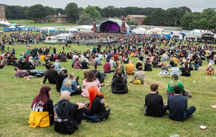 Slam Dunk Festival 2021. CREDIT: Getty